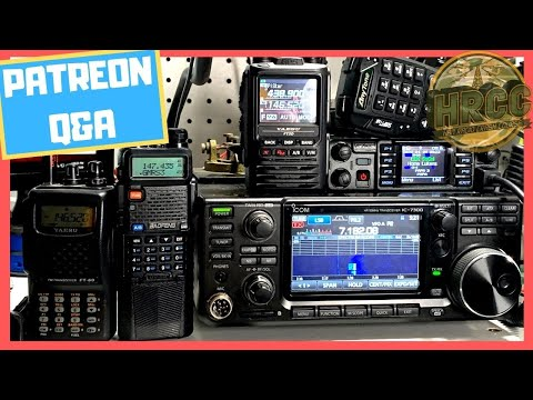 Ham Radio Q&A & Discussion With The Patrons