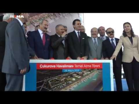 Çukurova Bölgesel Havalimanı temeli atıldı
