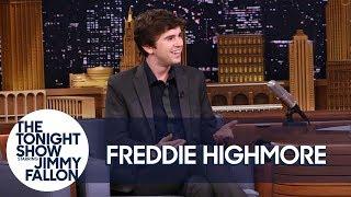 Freddie Highmore Chased an NBC Universal Studio Tour Dressed as Norman Bates