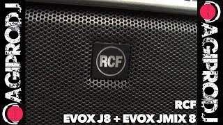 RCF EVOX J8 in action