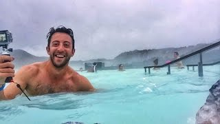 THIS PLACE IS UNREAL (The Blue Lagoon - Reykjavik, Iceland) | WOW Air
