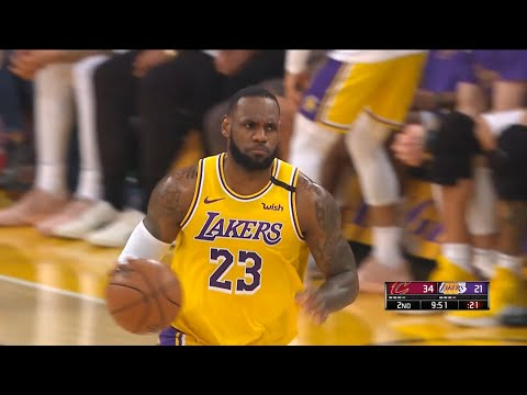 Los Angeles Lakers vs Cleveland Cavaliers 1st Half Highlights | January 13, 2019-20 NBA Season