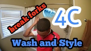 How to get Waves wash (wash and style to lay hair down)