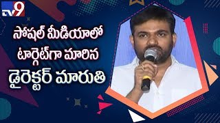 Social media counter attack aimed at Director Maruthi..