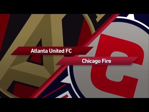 HIGHLIGHTS: Atlanta United vs. Chicago Fire   March 18, 2017