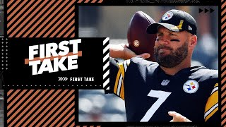 Is it time for the Pittsburgh Steelers to replace Big Ben?   First Take