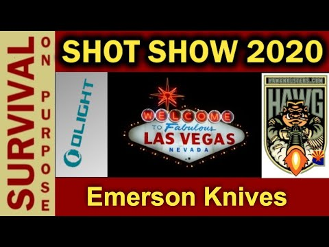 Why Emerson Knives Are So Popular With Serious Users - SHOT Show 2020