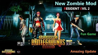 [Hindi] PUBG Mobile   New Zombie Mod RESIDENT EVIL 2 Update Gameplay