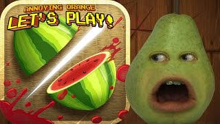 Pear Plays - FRUIT NINJA!