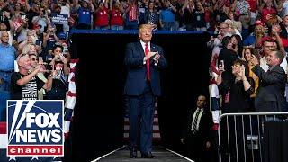 Trump holds 'Make America Great Again, Again!' rally in Newton, Pennsylvania