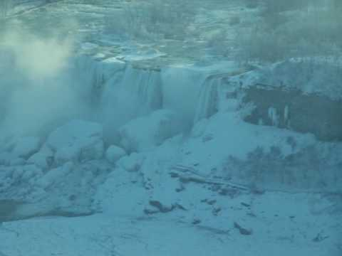 Frozen Falls by Anthony Jones |Niagara Falls Frozen 2009