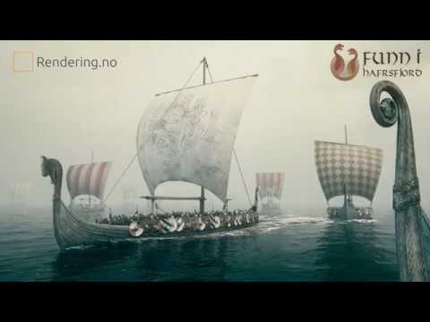 Funn i Hafrsfjord virkelighetsmodell