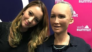 What Robots REALLY Think of Humans | A Conversation with Sophia