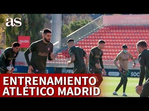 ATLÉTICO MADRID BARCELONA | Entrenamiento previo del ATLÉTICO MADRID | Diario AS