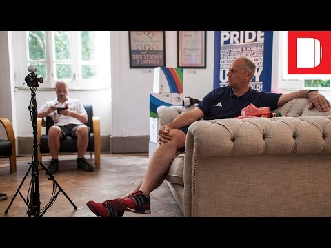 The Drum Interviews Sir Steve Redgrave In Rio With Samsung VR