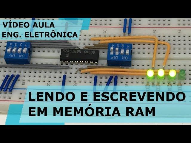 LENDO E ESCREVENDO EM MEMÓRIA RAM | Vídeo Aula #181