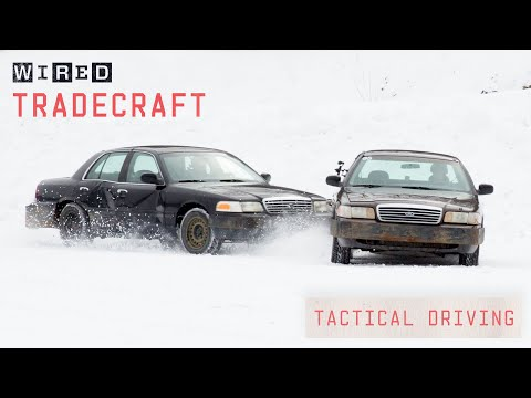 Pro Driver Shows Off Tactical Driving Techniques   Tradecraft   WIRED