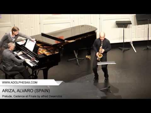 Dinant 2014 - ARIZA Alvaro (Prelude, Cadence et Finale by Alfred Desenclos)