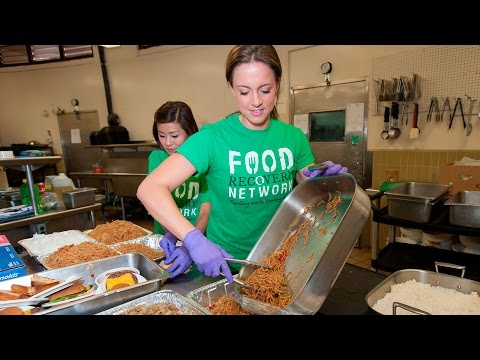 UH Manoa Students and Staff Collect and Donate Surplus Food to Feed Those in Need