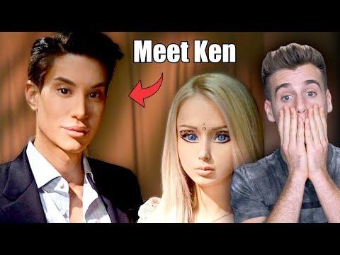 Meet The Living Human Ken Doll