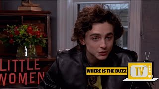 Timothée Chalamet Speaks On The Screen Relationship He Has With Saoirse Ronan
