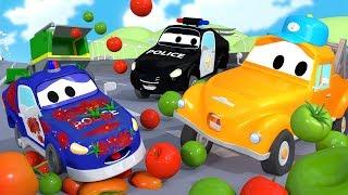 Baby Matt - Tom the Tow Truck's Car Wash in Car City | Car Cartoons for Kids