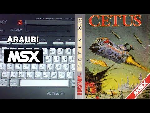 Cetus (Tynesoft, 1986) MSX [561] Walkthrough Comentado