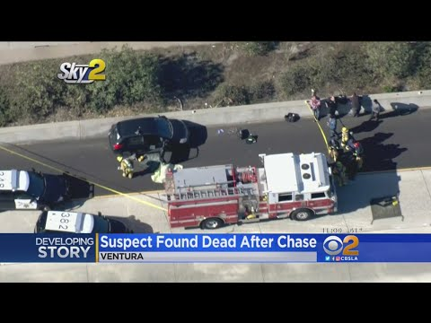 Rape Suspect Dies Of Poison Along 101 Freeway In Ventura