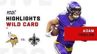 Adam Thielen Comes Up CLUTCH vs. Saints | NFL 2019 Highlights