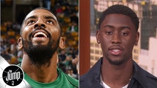 Is Kyrie Irving a bad teammate? Here are Caris LeVert's first impressions | The Jump