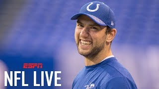 Andrew Luck is expected to be ready for Colts training camp | NFL Live | ESPN