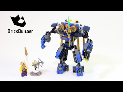 Lego ninjago 70754 electromech lego speed build