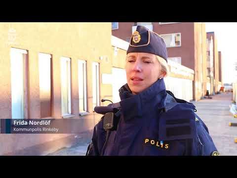 Byggstart av polishus i Rinkeby