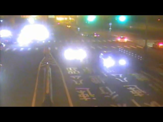 西濱苗栗竹南路段違法競速飆車 警以監視器畫面逮11人