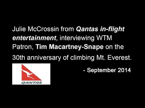 Tim Macartney-Snape Mt. Everest 30 year anniversary interview