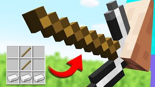 15 STRANGEST Minecraft Recipes (Comments to Crafting)