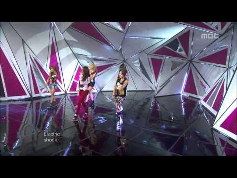 f(x) - Electric Shock, 에프엑스 - 일렉트릭 쇼크, Music Core 20120616