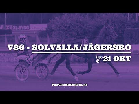 V86 tips Solvalla/Jägersro - 21 oktober 2020