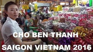 Banh Cuon Banh Xeo Banh Pia Cho Ben Thanh Saigon Vietnam 2016