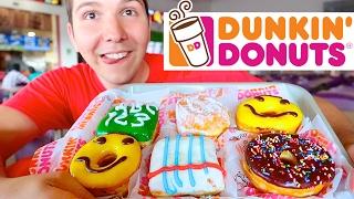 Dunkin' Donuts • MUKBANG