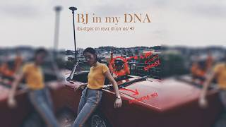 Ilyas Konlay - BJ in my DNA featuring Hullera [Official Lyrics Video]