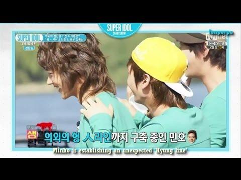 [ENG] 140905 SHINee Minho cut Idol With Unexpected Friendship 1st - Super Idol Chart Show