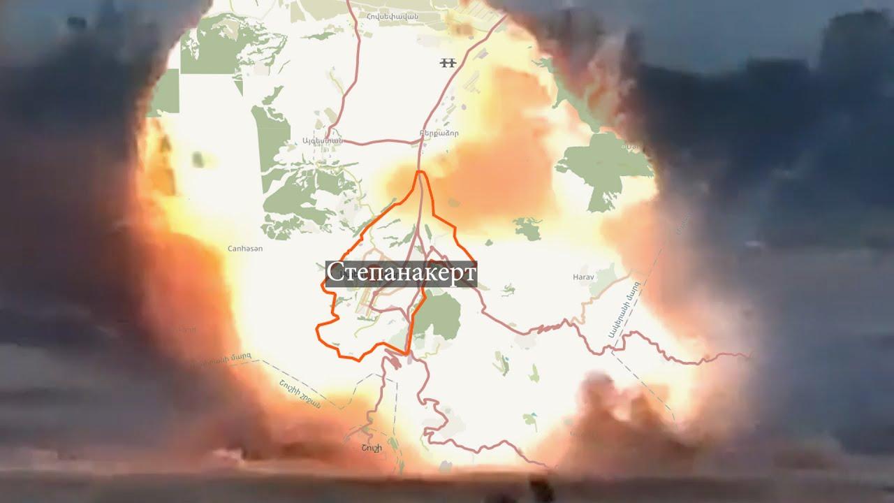 Карабах: ожесточенные бои по всему фронту