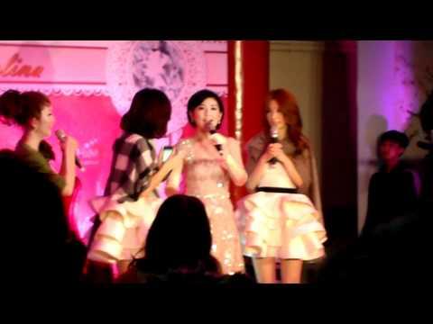 20111216 S.H.E婚禮合唱我愛雨夜花