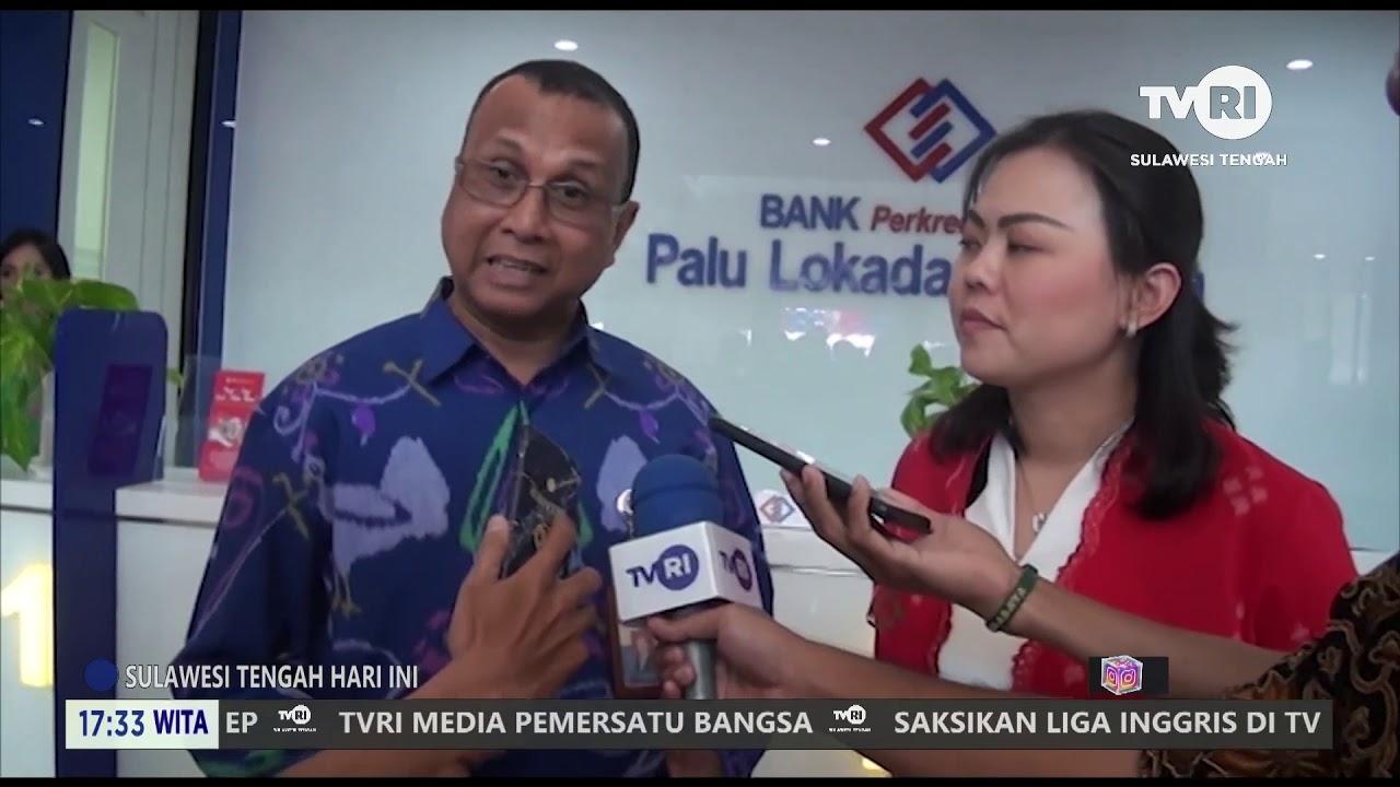 Peresmian kantor Bank BPR Palu Lokadana Utama