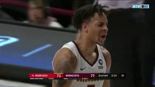Highlights: Minnesota Golden Gophers vs. Nebraska Cornhuskers | Big Ten Basketball