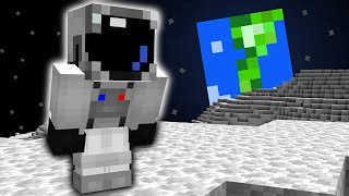 Minecraft, But You're On The Moon...
