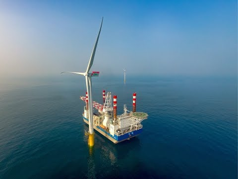 Swancor Formosa I Offshore Demonstration Wind Turbines 上緯海洋離岸風電示範機組施工紀錄