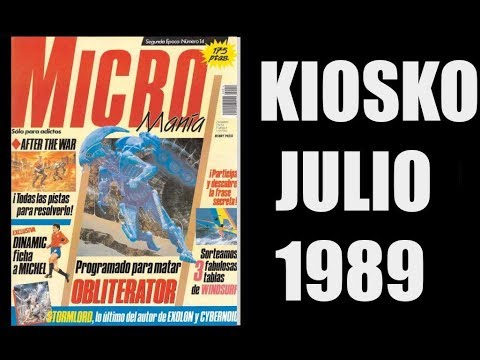 MICROMANIA JULIO 1989 | SECCION KIOSKO |