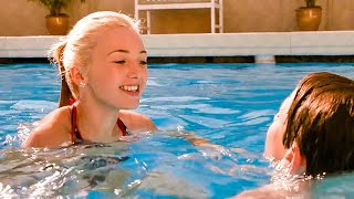 Girl in the Pool Scene - DIARY OF A WIMPY KID 3: DOG DAYS (2012) Movie Clip